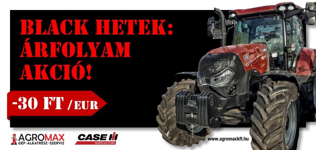 Black hetek - Case IH Maxxum 125