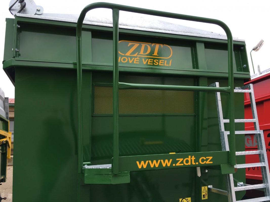 ZDT Három oldalra billenthető felépítmény Pótkocsik