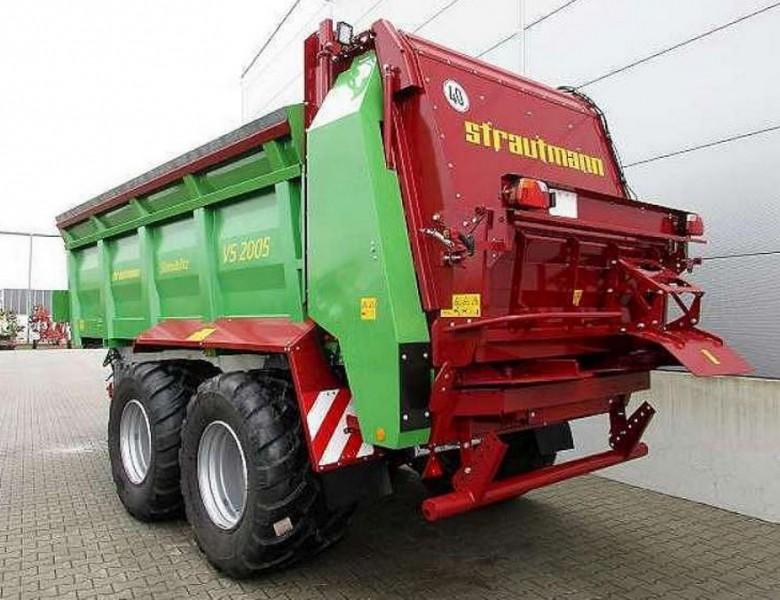 Strautmann VS2005 szervestrágyaszóró pótkocsi Készletes gépek