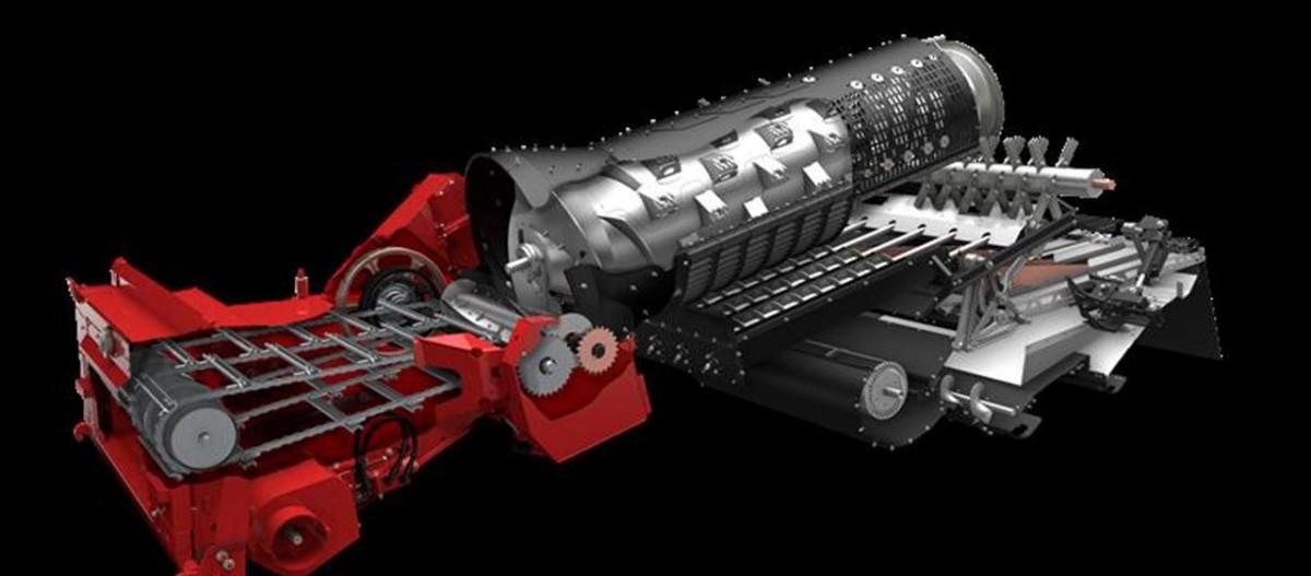 CASE IH Axial-Flow 140 Betakarító gép